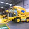 3 Cubic Meter Diesel Mobile Self Loading Concrete Truck for Sale