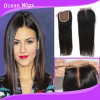 Middle Part Brazilian Virgin Remy Straight Silk Top Lace Closure (CL-018)