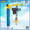 2000kg 3/0.75m/Min Lifting European Electric Chain Hoist with Hook Type