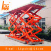 on Track Hydraulic Double Scissor Aerial Work Lift Platform (SJY0.5-1.1)