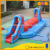 Commercial Slide Inflatable Wipe out Big Ball Game for Sale (AQ07124)