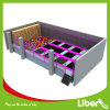 Liben Small Rectangular Kids Foam Pit Trampoline with Enclosure