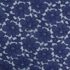Navy Cotton Lace for Garment Accessories Lace Fabric