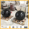 Black Granite Round Stone Fountain Floating Sphere /Ball for Garden