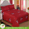 Custom Red King Size Beautiful Wedding Bed Sheet