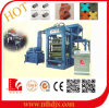 PLC Control Table and Mould Vibration Concrete Block Machinery