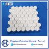 Impact Resistance Alumina Ceramic Hexagonal Tile on Nylon Mat