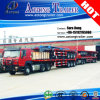 Hot Sale 3 Axle 40ft Flatbed Semi Trailer for Container