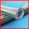 210 Deg Chemical Resistant Stainless Steel Braided Teflon Tube
