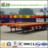 China Manufacturer Direct Supplier Hot-Selling Flatbed Load 40FT Container Semi Trailer