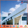Ideabond 1220*2440mm PVDF Ral White Aluminum Wall Panel (RAL-9016)