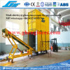 Ce Mobile Containerized Bagging Machine in Port