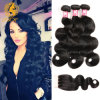 100% Brazilian Virgin Human Hair Body Wave with Lace Closure