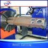 Chuck Type Tube Cutter / Metal Tube Bevel Cutting Machine
