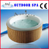 Acrylic White Outdoor SPA, Massage Bathtub (AT9006)