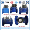 Blue Color Woltman Water Meter with Flanges Connection (DN50-DN300)