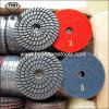"Wd-10 Flexible Marble 3 Step Diamond Floor Polishing Pad (4""/100mm)"