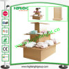 3 Shelf MDF Display Island Stand