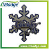 Custom Snow Shape Metal Pin Badge