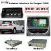 Auto HD Video Interface Android GPS Navigation Box for (13-16) Peugeot 2008 Support Google Map/Igo