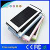 Grade a Lithium Polymer Battery 12000mAh Super Thin Solar Power Bank