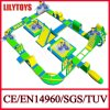 Giant Inflatable Commercial Water Park on The Beach (Lilytoys-WP27)