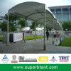 Luxury Walkway Tent with White Roof Covering