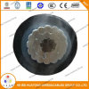 15 K V Covered Aerial Mv Cable - Tree Wire ACSR Conductor XLPE Insulation HDPE Sheath Power Cable