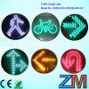 En12368 Certificated Arrow Traffic Light Module with Cobweb Lens
