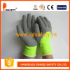 Ddsafety 2017 Fluorescence Yellow Acrylic Fiber Napping Line Working Gloves