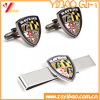 Custom Logo Gold Cufflink for Promotion Gift (YB-LY-TC-01)
