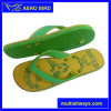 Good Foot Feels Men EVA Flip Flops with Football Print