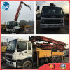 37m Japan 26ton/8*4-LHD-Drive Used Isuzu-Chassis Elephant-Brand Putzmeister Concrete-Delivery Pump Truck