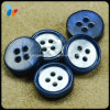 Custom Dye Blue Small Round Shell Buttons for Shirts