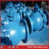 Wcb Ball Valve Flanged Floating Ball Valve