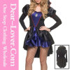 Fashion Sexy Royal Evil Queen Costume