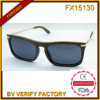 Fx15130 Wood Frame Full Lens Sunglasses Popular Brands Eyewear