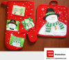 Promotion Gift Oven Mat and Pot Holder Set