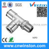 Brass Pneumatic Push-in Fittings with CE