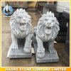 Stone Lion Sculpture Middle Size