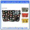 Cupcake Print Single Shoulder Satchel Handbag with PVC Coating (SAT-002)