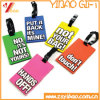 Factory Price Custom Soft PVC Rubber Luggage Tag