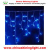 Blue Color Christmas Holiday Decoration Icicle Lights