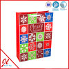 Traditional Santa XL Christmas Paper Foil Shopping Gift Bags with The Latest Design From Jingli Paper Bag