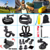 Black Gopro 15-in-1 Basic Common Outdoor Sports Kit for Gopro