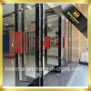 Interior Rose Golden Color Mirror Finish Stainless Steel Glass Door