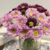 Artificial Silk Daisy Purple Chrysanthemum Flowers Best Selling 2017 in USA