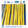 Factory Manufacturer 12 Strand Yellow Ultra High Molecular Weight Polyethlene Rope UHMWPE Rope