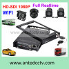 4 Channel Auto Surveillance Camera System with GPS Tracking for All Kinds of Vehicles CCTV