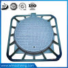 En124 D400 800mm Sand Casting Ductile Iron Manhole Cover Manufacture